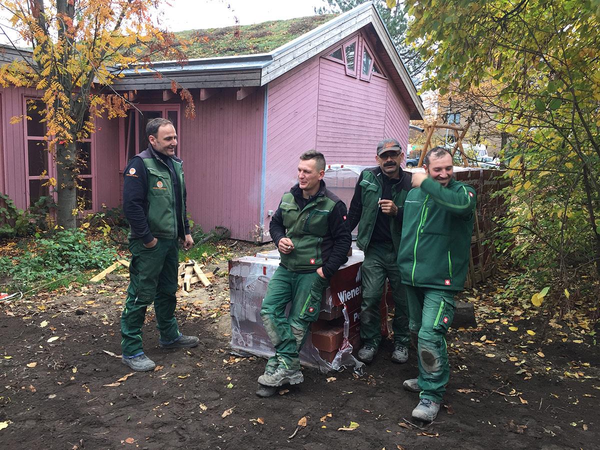Weser Gartenbau - Team